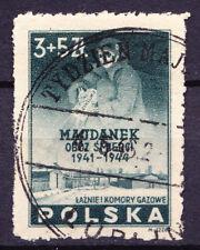 (PL) Poland Polen Polska camp Majdanek Fi 403 used rare