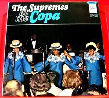 Supremes At The Copa LP UK STEREO ORIG 1966 Tamla Motown STML 11026 Soul VINYL