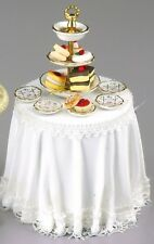 12th scale decorated Cake Table by Reutter Porzellan