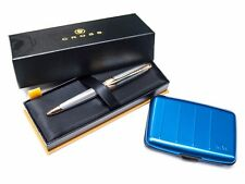 Cross Apogee Medalist Ballpoint Pen + FREE Metafun RfID Wallet **WAS £124.95!**