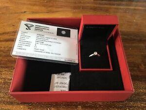 Forever Diamond 18ct White Gold 1/2 Carat Ring, Size K