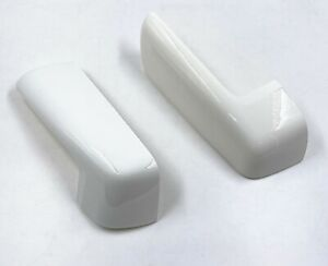 For 19-21 Silverado Sierra Mirror Cover Cap Replacement Painted White #GAZ 2PCS