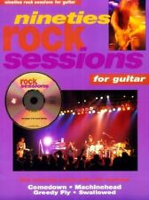 Partition+CD pour guitare - Nineties Rock Sessions for Guitar
