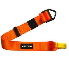"Fusion Climb Lanyard Eye Loop Delta Ring 1.75"" Wide Adjustable to 30"" Orange"