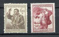 37028) Czechoslovakia 1954 MNH Communist Party 2v