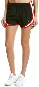 Nike Women's Dri-Fit Running Shorts Size S Color Black/Red NWT