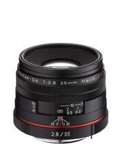 PENTAX standard single-focus macro lens HD PENTAX-DA 35 mm F 2.8 Black F/S