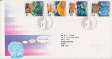 GB ROYAL MAIL FDC FIRST DAY COVER 1994 MEDICAL DISCOVERIES STAMP SET BUREAU PMK