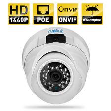 Reolink IP kamera 2560x1440 4 MP 1440P POE Outdoor ONVIF RLC410 plug&play dome