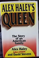 Alex Haley Queen hbdj 1st edition roots story american family