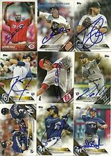2016 Topps MICHAEL REED Signed Card BREWERS autograph RC CEDAR PARK, TX