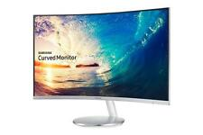 "Samsung Curved Monitor C27F591FD LED-Display 68,58 cm (27"") weiß/silber Monitor"