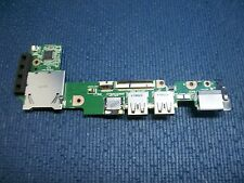 Placa USB + Audio + Ethernet + Lector SD ordenador portatil Asus Eee PC 1011PX