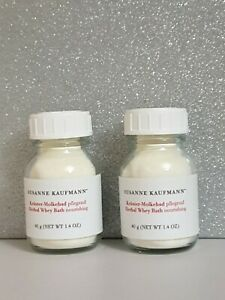 2 x SUSANNE KAUFMANN HERBAL WHEY BATH 40G New