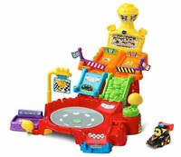 VTech Toot-Toot Drivers Spin Raceway Baby Car Track Toys, Baby Interactive Toys