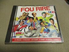 """CD """"FOU RIRE"""" Le Roch, Andre VALARDY, Eric THOMAS, Didier GUSTIN, Pierre PALMADE"""