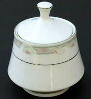 VINTAGE Crown Ming Fine China Sugar Bowl with Lid Jian Shiang, China