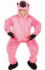 Adulto Rosa Gorila Fancy Dress Costume Mono Mono Traje de Fiesta de los equipos de Día de Caridad
