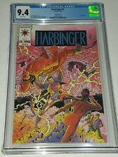 Harbinger #0 Pink Variant CGC 9.4 NM White Valiant 1992 Mail Away Edition