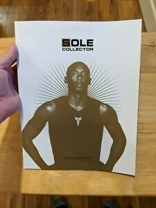 Kobe Bryant Sole Collector issue 48 Special Edition Magazine History MINT