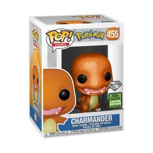 Pokemon Charmander (Diamond Glitter) - Emerald City Comic Con 21 Funko Pop! Viny