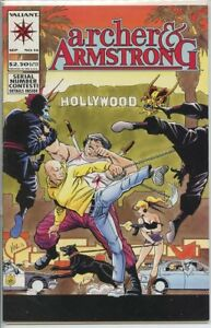 Archer and Armstrong 1992 series # 14 very fine comic book