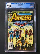 Avengers #217 CGC 9.8 (1982) - Return of Wasp and Yellowjacket