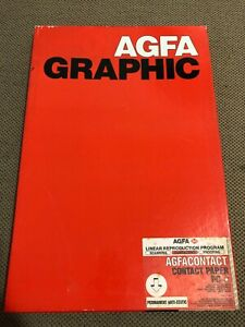 Agfa Graphic AGFACONTACT contact paper PC 100 count 3EEW3 30.5x40.7 CM