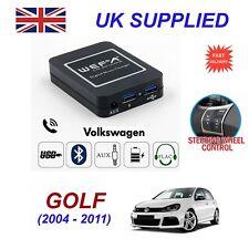 Para VW Golf streaming de música Bluetooth teléfono módulo SD AUX CD Cargador 12 Pin