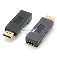 Adaptador Conversor DP (DisplayPort) Macho a HDMI Hembra 1080p v05
