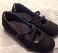 Crocs, Women's, Mary Jane Small Wedge Heel, Black Size 8M