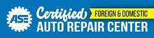 "Ase Certified Auto Mechanic Repair Center Shop Vinyl Banner Flag Sign 96""x24"""
