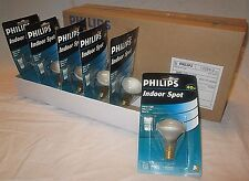 NEW Case of 30 PHILIPS Indoor 40 Watt Spot Light  R14 Bulbs 40w FREE SHIPPING !