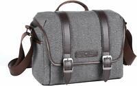 K&F Concept DSLR SLR Camera Shoulder Bag Sling Bag Waterproof for Canon Nikon