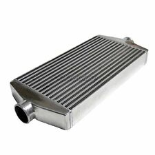 "2.5"" Center Inlet Outlet Turbo Universal Intercooler For S13 S14 S15 240SX 300ZX"