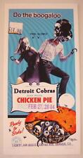 2004 Detroit Cobras - Denver Silkscreen Concert Poster by Grealish s/n