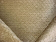 11+Y HANDSOME KRAVET 28781 VELVETY FAWN BROWN DIAMOND CHENILLE UPHOLSTERY FABRIC