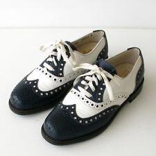 Chaussures de Golf cuir - TOM WALKER - Très vintage des années 70 - France T36