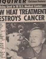 National Enquirer December 27 1977 John Wayne Farrah Fawcett Kate Jackson