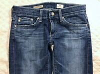 AG Adriano Goldschmied Tomboy Crop Straight Womens Denim Blue Jeans size 25