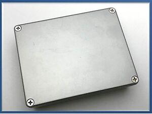 Contenitore console pannello in acciaio e alluminio 320x250x100 mm da assemblare
