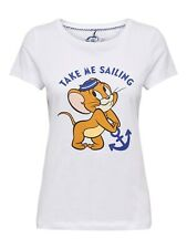 ONLY Maglia T-shirt donna TOM & JERRY PRINTED T-SHIRT Sailing