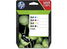 Genuine 4 Colour HP 364 Ink Cartridge Multipack N9J73AE Original Photosmart 5510