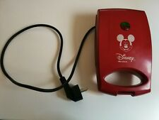 Disney Ariete 1925 Mickey Electric Sandwichmaker Toaster Red