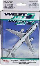 DARON REALTOY RT7374 WestJet Boing 737 1/300 Reg# C-FZW Diecast. New