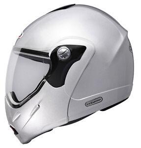 Caberg Rhyno Junior Flip Up Motorcycle Helmet Silver