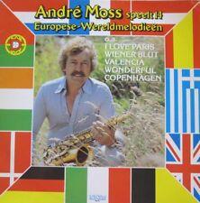 ANDRE MOSS SPEELT 14 EUROPESE-WERELDMELODIEEN - LP