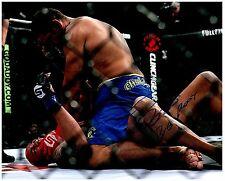 ANTONIO SILVA Signed Autographed UFC MMA 8X10 PIC. G