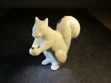 Lenox China White With Jewels Decorated Standing Squirrel With Nut Figurine