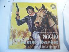 "SAMMY BARBOT""EL MACHO-DISCO 45 GIRI CINEVOX It 1970"" OST-SOLO COPERTINA"